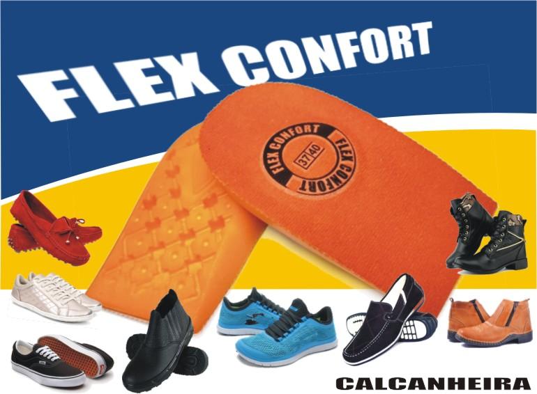 e691247e1 As CALCANHEIRAS Flex Confort foram desenvolvidas minimizar os impactos e  também para lhe oferecer o máximo de conforto, tanto no uso do dia a dia,  ...