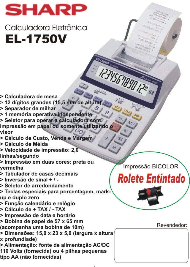 calculadoras eletronicas rh nado com br Sharp EL 1611P download manual calculadora sharp el-1750v em portugues
